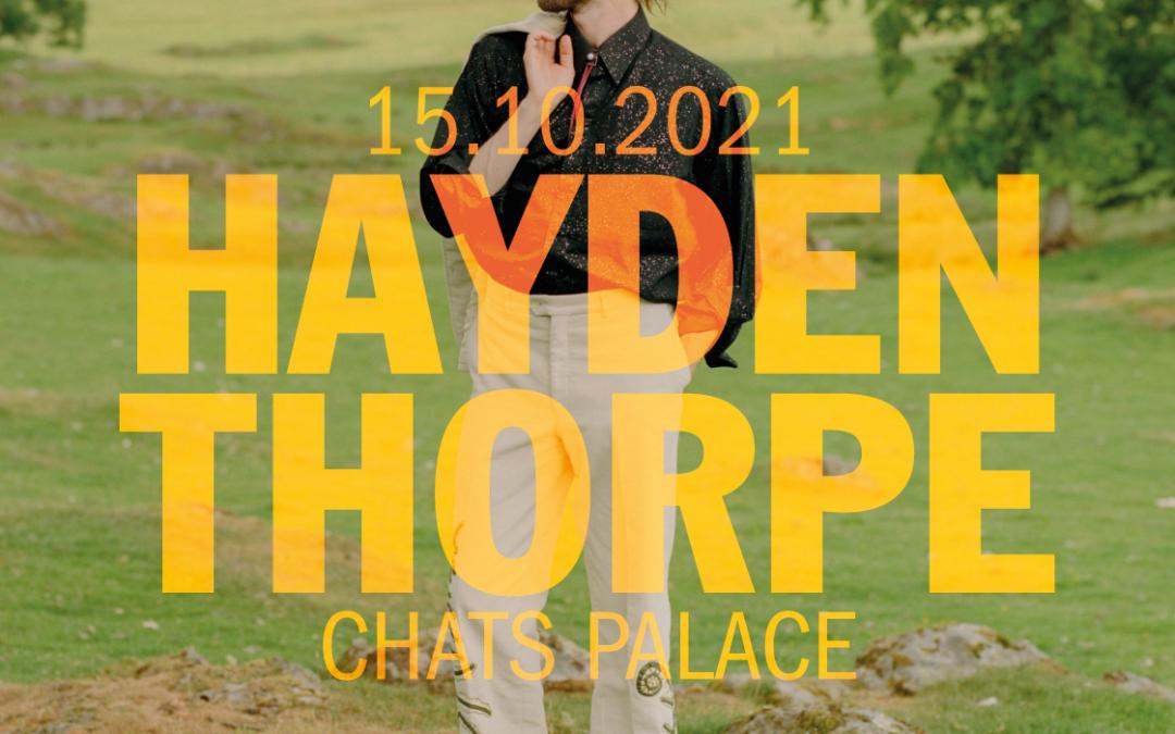 Parallel Lines presents Hayden Thorpe